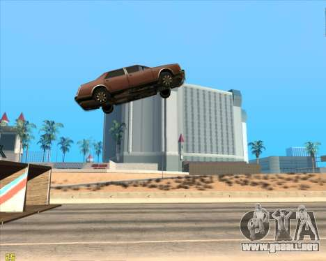Trampolín para GTA San Andreas segunda pantalla