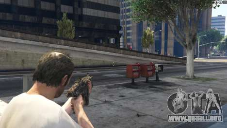 GTA 5 Gears of War Lancer 1.0.0 octavo captura de pantalla