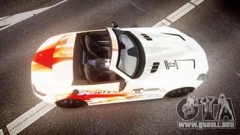 Mercedes-Benz SLS AMG para GTA 4 visión correcta