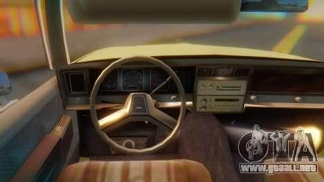 Chevrolet Caprice para la visión correcta GTA San Andreas