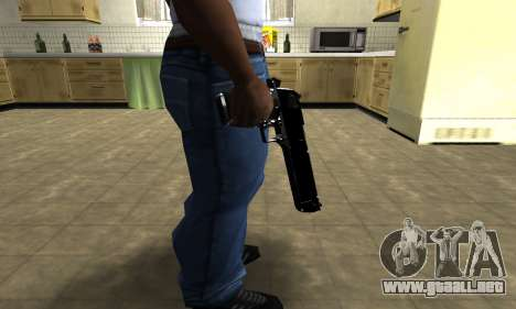 Black Cool Deagle para GTA San Andreas tercera pantalla
