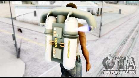 New SA Jetpack para GTA San Andreas tercera pantalla