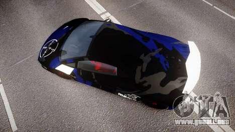 Lamborghini Sesto Elemento 2011 para GTA 4 visión correcta