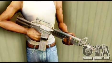 M4 Fixed para GTA San Andreas tercera pantalla
