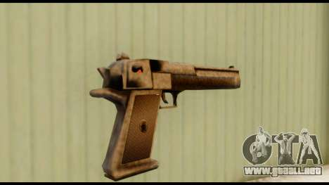 Desert Eagle v0.8 para GTA San Andreas segunda pantalla