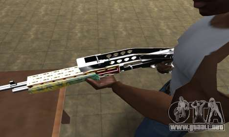 Ganja SPAS-12 para GTA San Andreas segunda pantalla