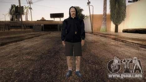 Mercenario de la mafia en la campana para GTA San Andreas segunda pantalla