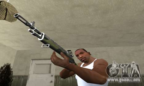 Military Rifle para GTA San Andreas segunda pantalla