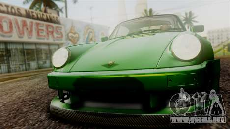 Porsche 911 Turbo (930) 1985 Kit A PJ para vista inferior GTA San Andreas