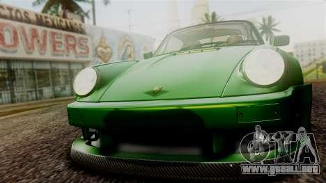 Porsche 911 Turbo (930) 1985 Kit A PJ para vista inferior GTA San Andreas