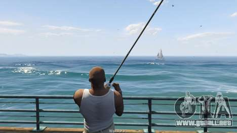 GTA 5 Fishing Mod 0.2.7 BETA quinta captura de pantalla