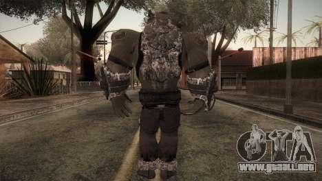 Bane Boss (Batman Arkham City) para GTA San Andreas tercera pantalla