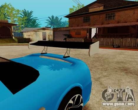 Infernus Lamborghini para vista lateral GTA San Andreas