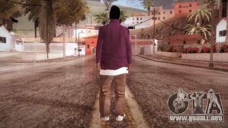 HD ballas3 Retextured para GTA San Andreas tercera pantalla