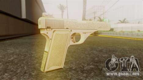 Vintage Pistol GTA 5 para GTA San Andreas segunda pantalla