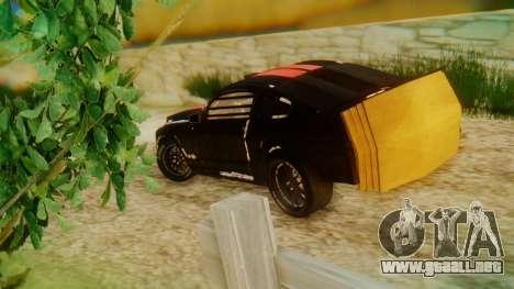 Shelby GT500 Death Race para GTA San Andreas left