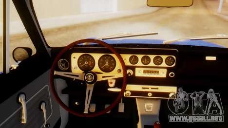 Lotus Cortina 1966 para GTA San Andreas vista posterior izquierda