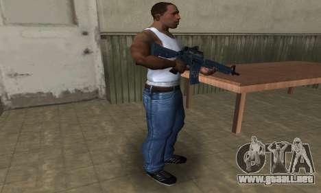 Counter Strike M4 para GTA San Andreas tercera pantalla
