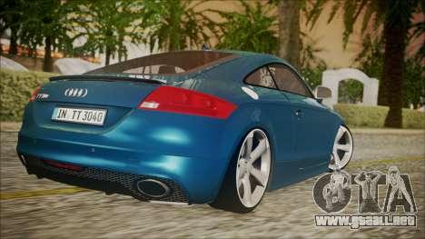 Audi TT RS 2011 v3 para GTA San Andreas left