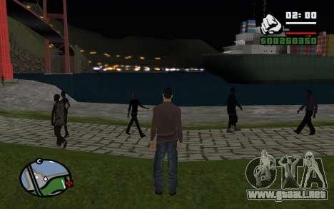 La noche eterna para GTA San Andreas tercera pantalla