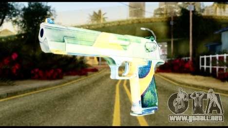 Brasileiro Desert Eagle para GTA San Andreas