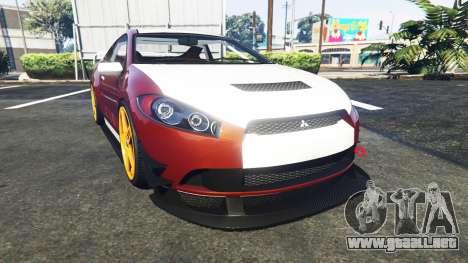 Maibatsu Penumbra Mitsubishi Eclipse para GTA 5