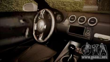 Audi TT RS 2011 v3 para la visión correcta GTA San Andreas