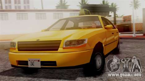 Washington Taxi para GTA San Andreas