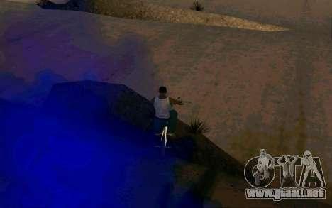 Bike Smoke para GTA San Andreas tercera pantalla