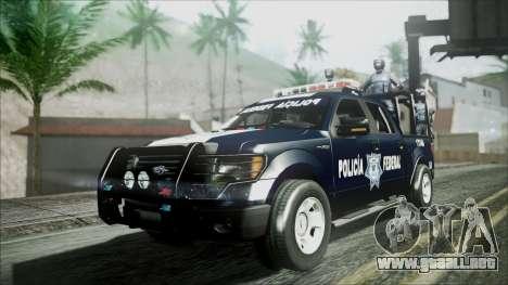 Ford Pickup Policia Federal para GTA San Andreas