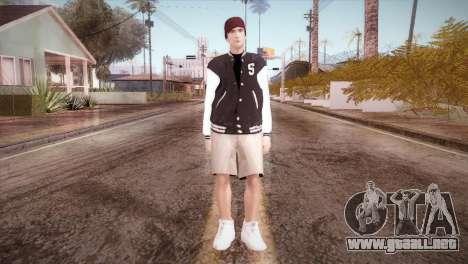 Jimmy Silverman para GTA San Andreas segunda pantalla