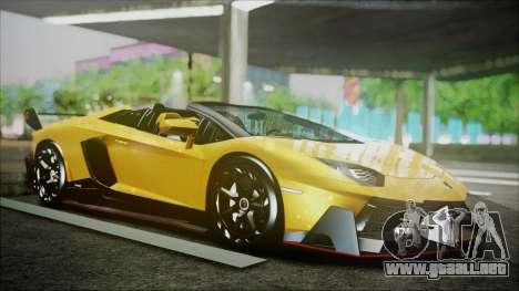 Lamborghini Veneno LP700-4 AVSM Roadster Version para GTA San Andreas left