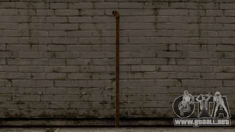 Steel Pipe para GTA San Andreas