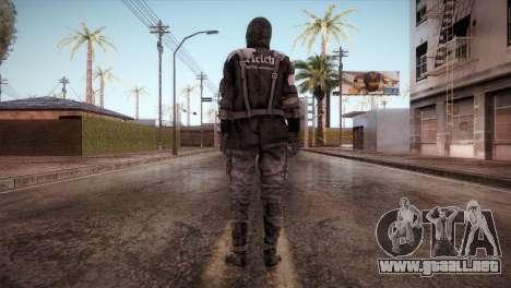 Soldado Del Reich para GTA San Andreas tercera pantalla