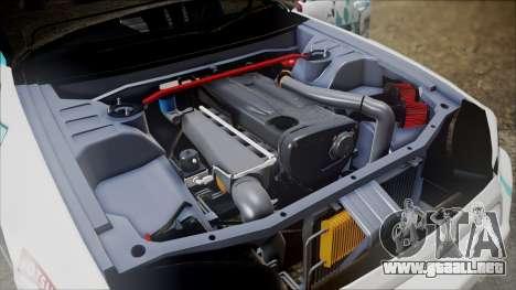 Nissan Skyline ER34 GT-Shop para GTA San Andreas vista hacia atrás