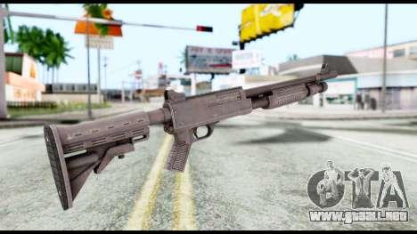 Combat Shotgun from Resident Evil 6 para GTA San Andreas segunda pantalla