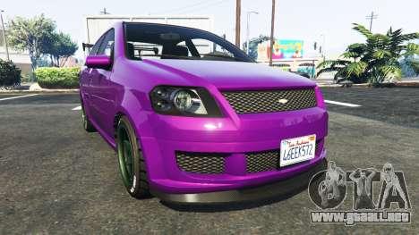 Declasse Asea Chevrolet Aveo para GTA 5