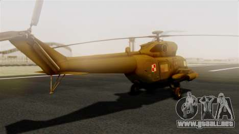PZL W-3PL Grouse para GTA San Andreas left