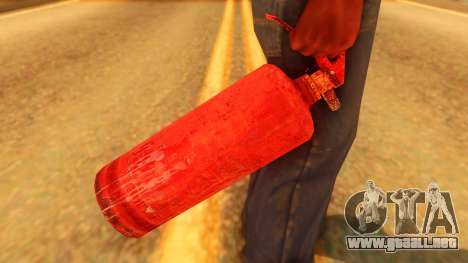 Atmosphere Fire Extinguisher para GTA San Andreas tercera pantalla