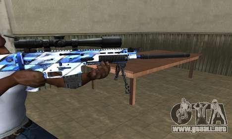 Mount Sniper Rifle para GTA San Andreas segunda pantalla