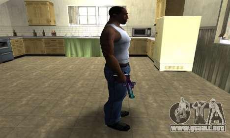 Space Deagle para GTA San Andreas tercera pantalla
