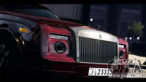 Rolls-Royce Phantom 2009 Coupe v1.0 para GTA 4 visión correcta