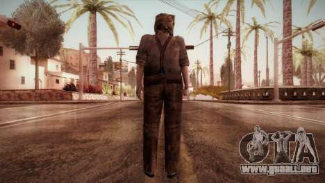 RE4 Dr. Salvador from Mercenaries para GTA San Andreas tercera pantalla