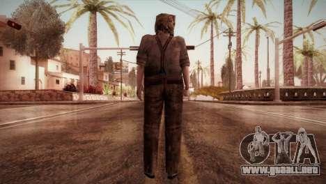RE4 Dr. Salvador from Mercenaries para GTA San Andreas tercera pantalla