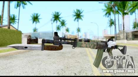 AK-47 from Resident Evil 6 para GTA San Andreas