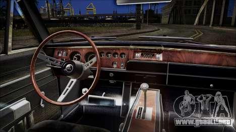 Dodge Charger RT 1969 para la visión correcta GTA San Andreas