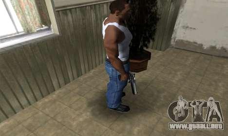 Full Silver Deagle para GTA San Andreas tercera pantalla