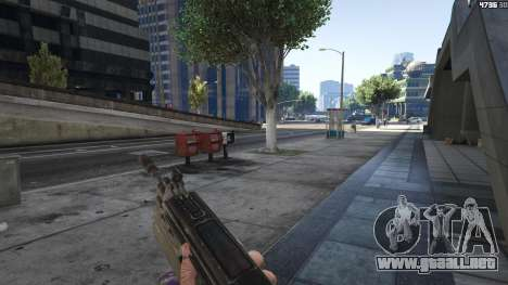 GTA 5 Gears of War Lancer 1.0.0 sexta captura de pantalla