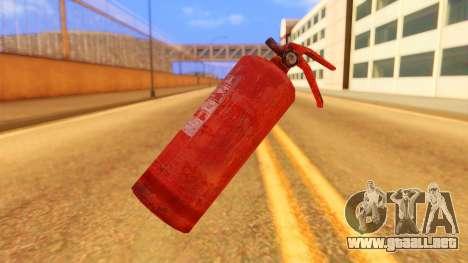 Atmosphere Fire Extinguisher para GTA San Andreas