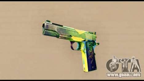Brasileiro Pistol para GTA San Andreas